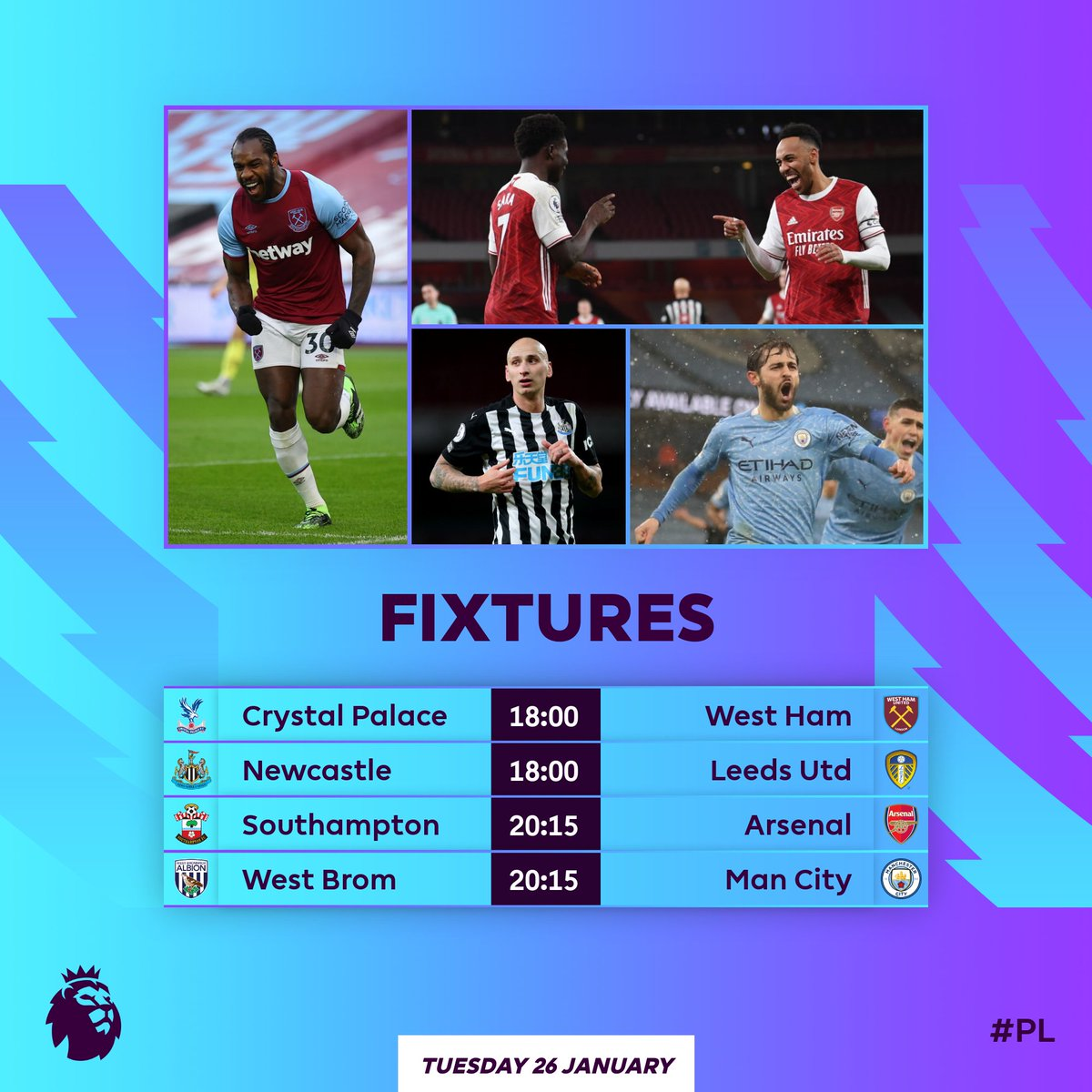 Kicking off a new Matchweek with 4️⃣ clashes 🙌