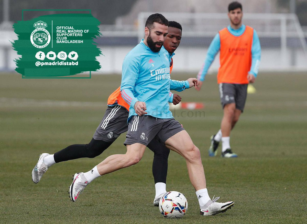 ℹ️ Dani Carvajal has fully recovered and is expected to start against Levante this weekend. (AS)  #HalaMadrid | #MadridistaBD