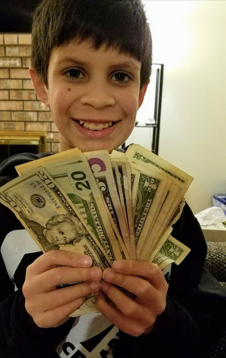 My money goal was to teach my son to save his paper route money instead of just blowing it! @VaroBank #VaroForTomorrow #Sweepstakes