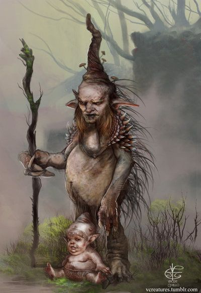 A #Gnome is a #creature in #European #folklore. It is a dwarfish, earth #spirit who guards mines of precious #treasures. He is represented as a small, physically deformed, usually hunchbacked creature resembling a dry, gnarled old man #FairyTaleTuesday #keepingClassicsalive 11/12