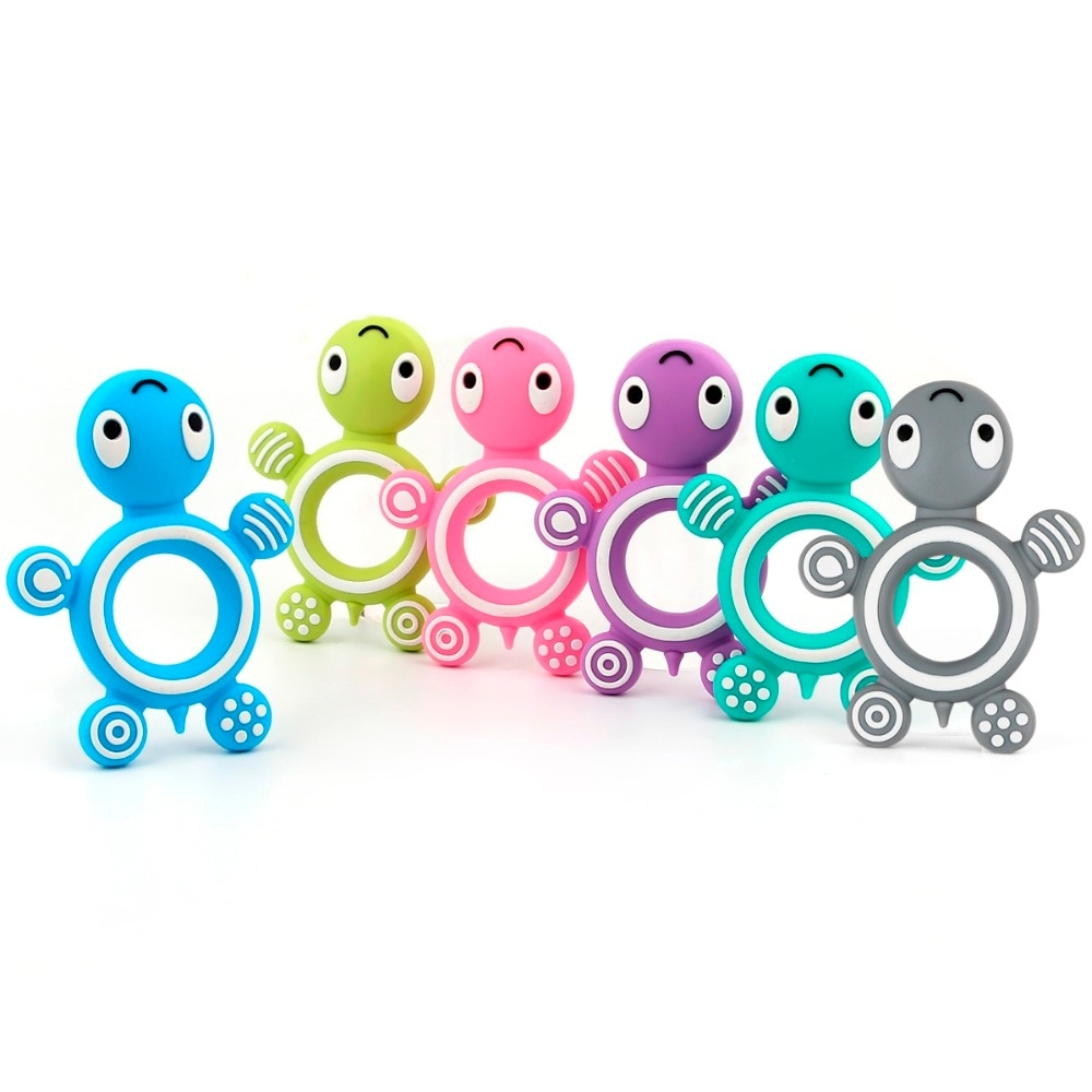 Baby's Cute Silicone Teether Toy #babygirl #love