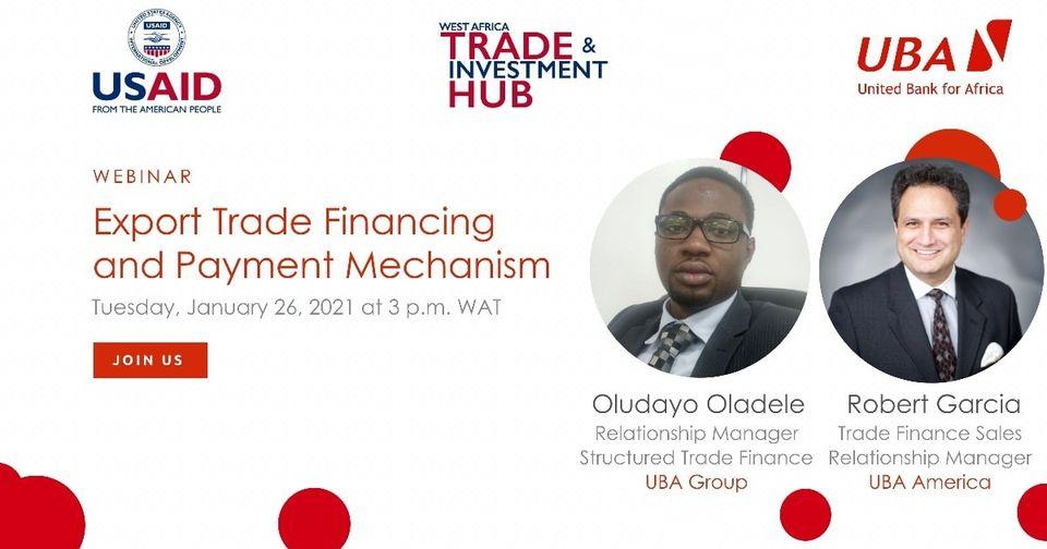 #Webinaire Rejoignez Robert K de l'UBA America. Oludayo Oladele du groupe Garcia et UBA. Cliquez sur le lien pour vous inscrire :   #AfricasGlobalBank, #UBATchad