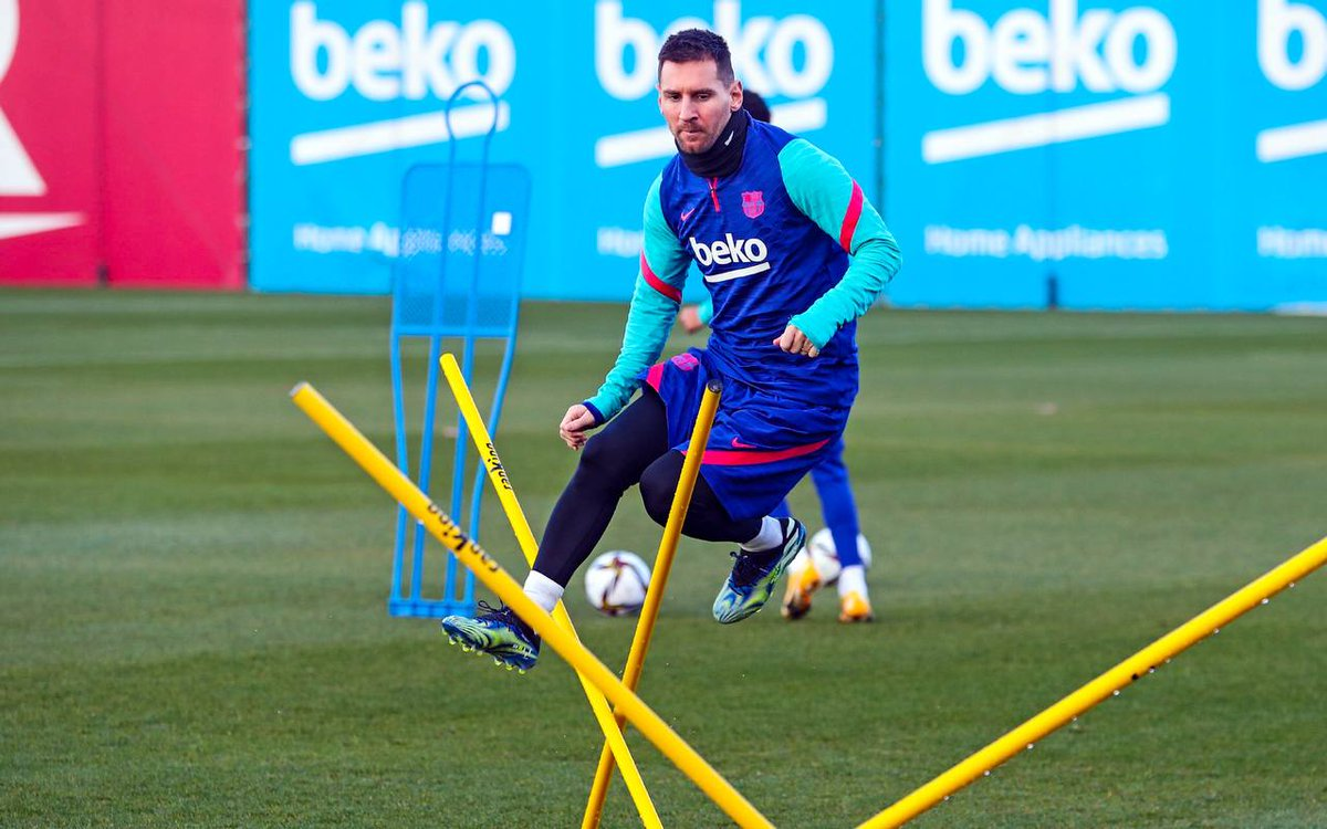 💪 #Messi is back! 🐐