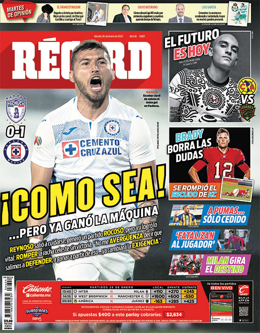 @record_mexico's photo on Reynoso