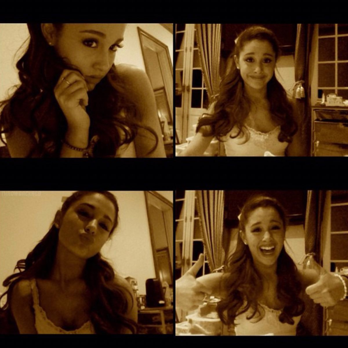 Ariana via Instagram 8 years ago today 'What people think i'm like / What i'm actually like' (26th January 2013)