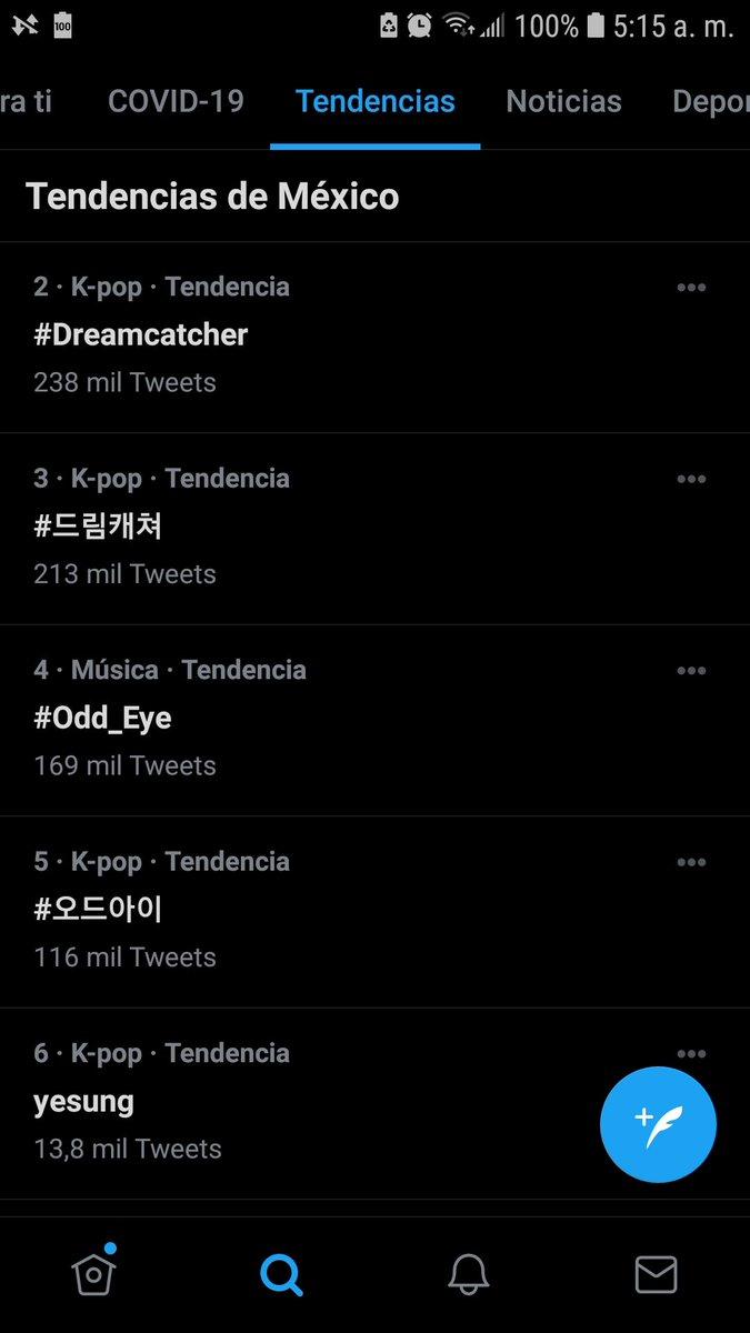 Still #2 to #4 in México ❤ @DeukaeSocial   #Dreamcatcher #드림캐쳐 #Odd_Eye #오드아이 #Road_to_Utopia