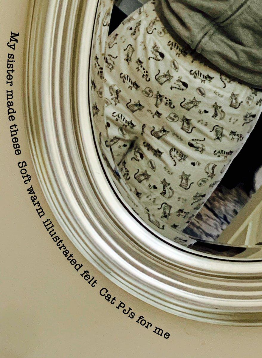 #haiku #ooem #poetry #sisters #pjs #flannel #cats #warm #cozy #love #shemadethem
