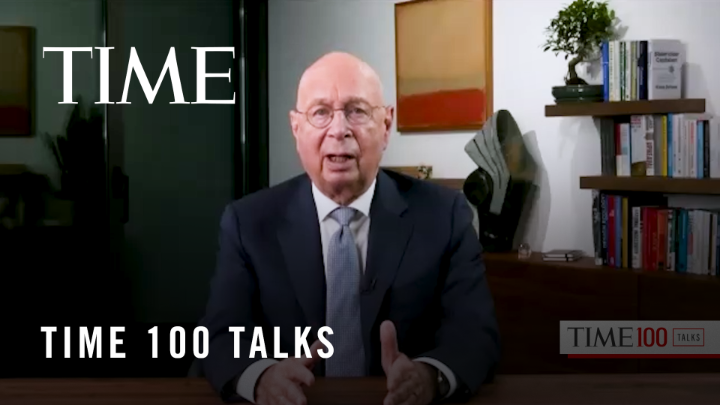 """To take care of the environment is looking at new business opportunities."" @ProfKlausSchwab, founder and executive chairman of the World Economic Forum (@wef), on why it's important to think about greener initiatives and solutions as we rebuild the economy #TIME100Talks"