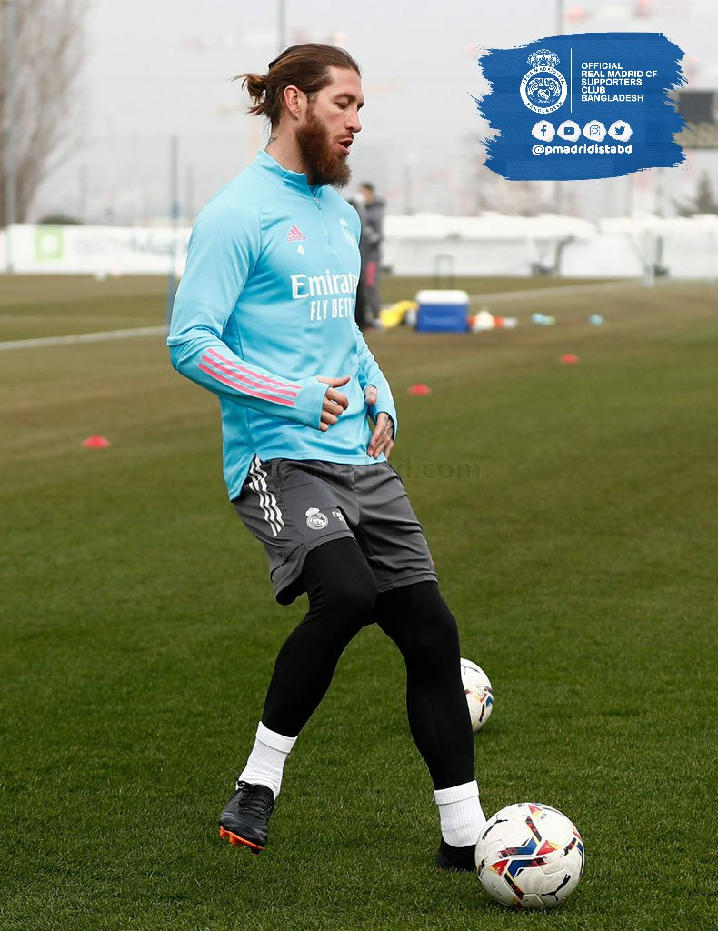 🏥 Sergio Ramos is out of the game against Levante. (AS)  Another opportunity for Militao to step up  #HalaMadrid | #MadridistaBD
