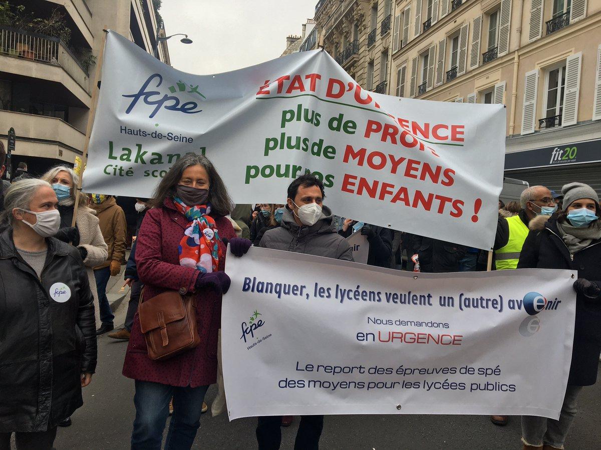 test Twitter Media - #Greve26Janvier : la #FCPE à la #manifestation des #enseignants et personnels d'#éducation pour réclamer des embauches massives en faveur de l'#ecole publique avec @arenasfcpe et @mesbahi_abdel https://t.co/TnxffzV7Ez