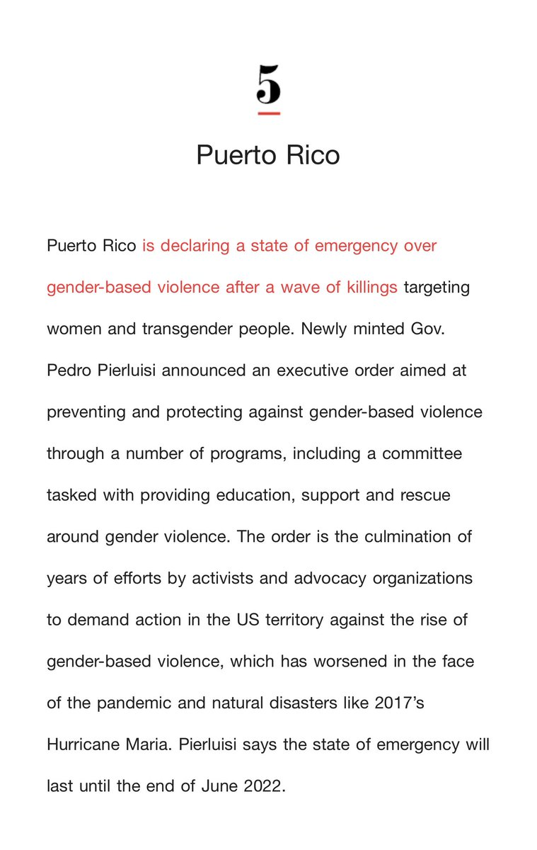 We need to work together and take action for the security of our women and transgender people. See something, say something! #stateofemergency #puertorico ⁦@cnnbrk⁩ ⁦@cnni⁩