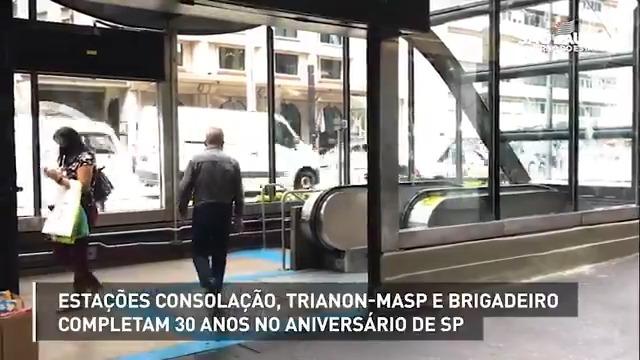 """Nos #SP467anos três estações do Metrô que ajudaram a transformar a Avenida Paulista a """"mais paulista das avenidas"""" completaram 30 anos. Conheça a trajetória do Manoel, que trabalhou na construção delas. Parabéns aos funcionários e passageiros que fazem parte dessa história!"""