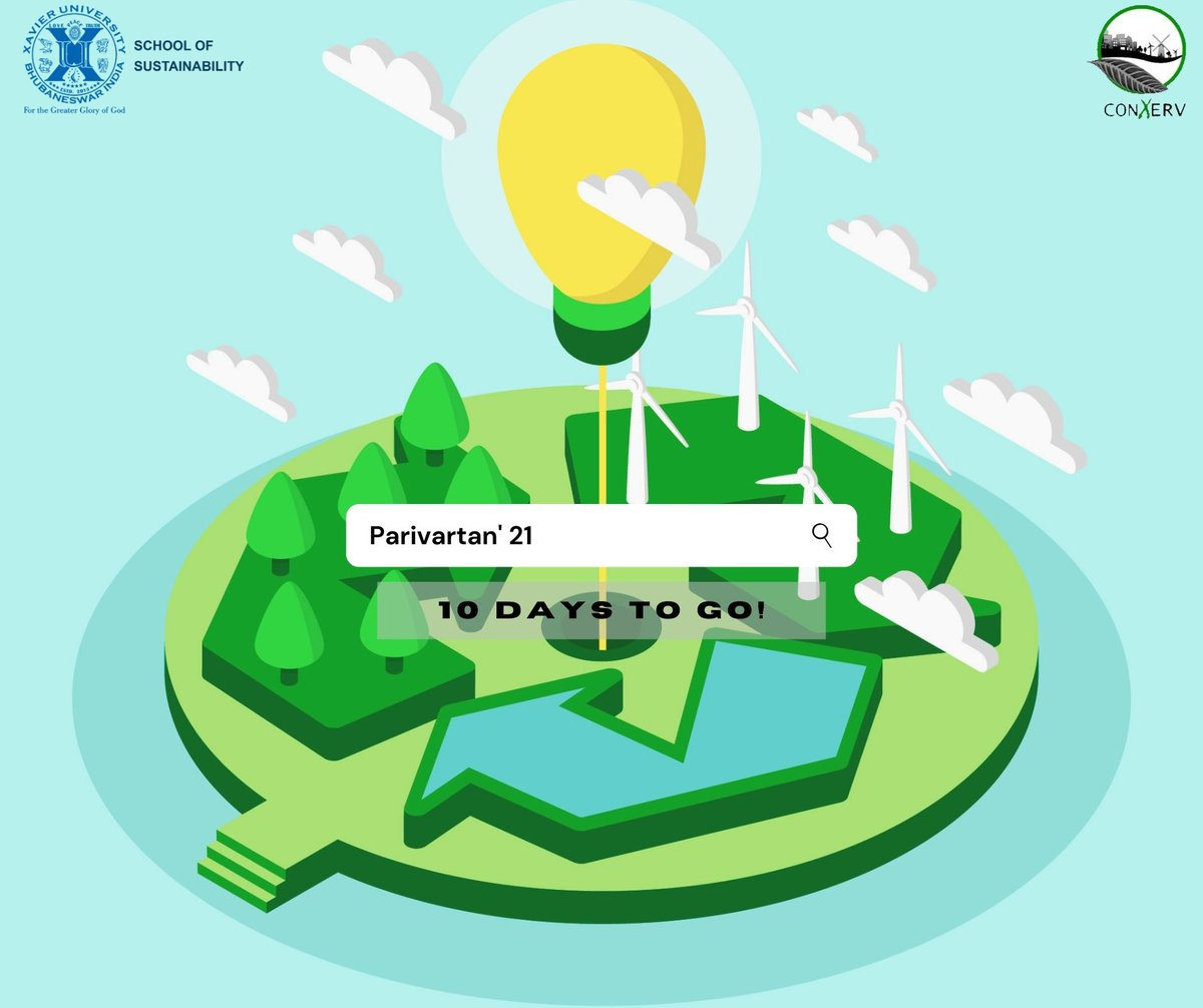 Renewable energy is a clear winner when it comes to boosting the economy and creating jobs.  Tom Steyer  1O Days to Go!  #climatechange #ActonClimate #BusinessConclave #Parivartan21 #sustainability #SchoolofSustainability #XUB