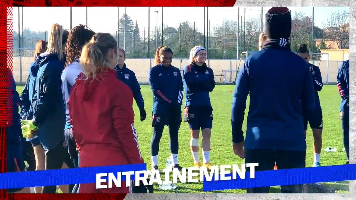 Replying to @OLfeminin: Premier entraînement pour notre nouvelle recrue @catarinamacario !
