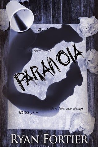 """Jeff's reviews ~ Paranoia by Ryan Fortier ~ 2014   excellent #debut #murder #read #IndieBooksBeSeen #IARTG   A young soul caught in an ever-lasting belief that visceral feelings are claimed to the old adage """"Listen to your gut."""" with dire consequences."""