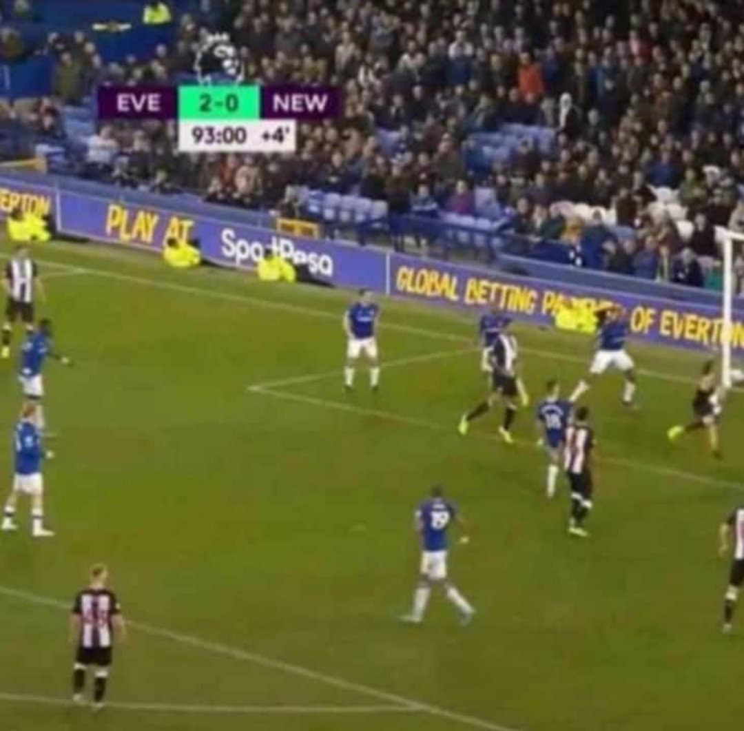 Just incase youre thinking of giving up, remember Everton didnt win this match 😁