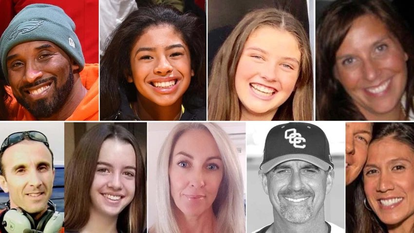 RIP Kobe & Gianna Bryant, John and Keri Altobelli and their daughter, Alyssa; Sarah Chester and her daughter, Payton; and Christina Mauser, an assistant coach. 🙏🏿🙏🏿