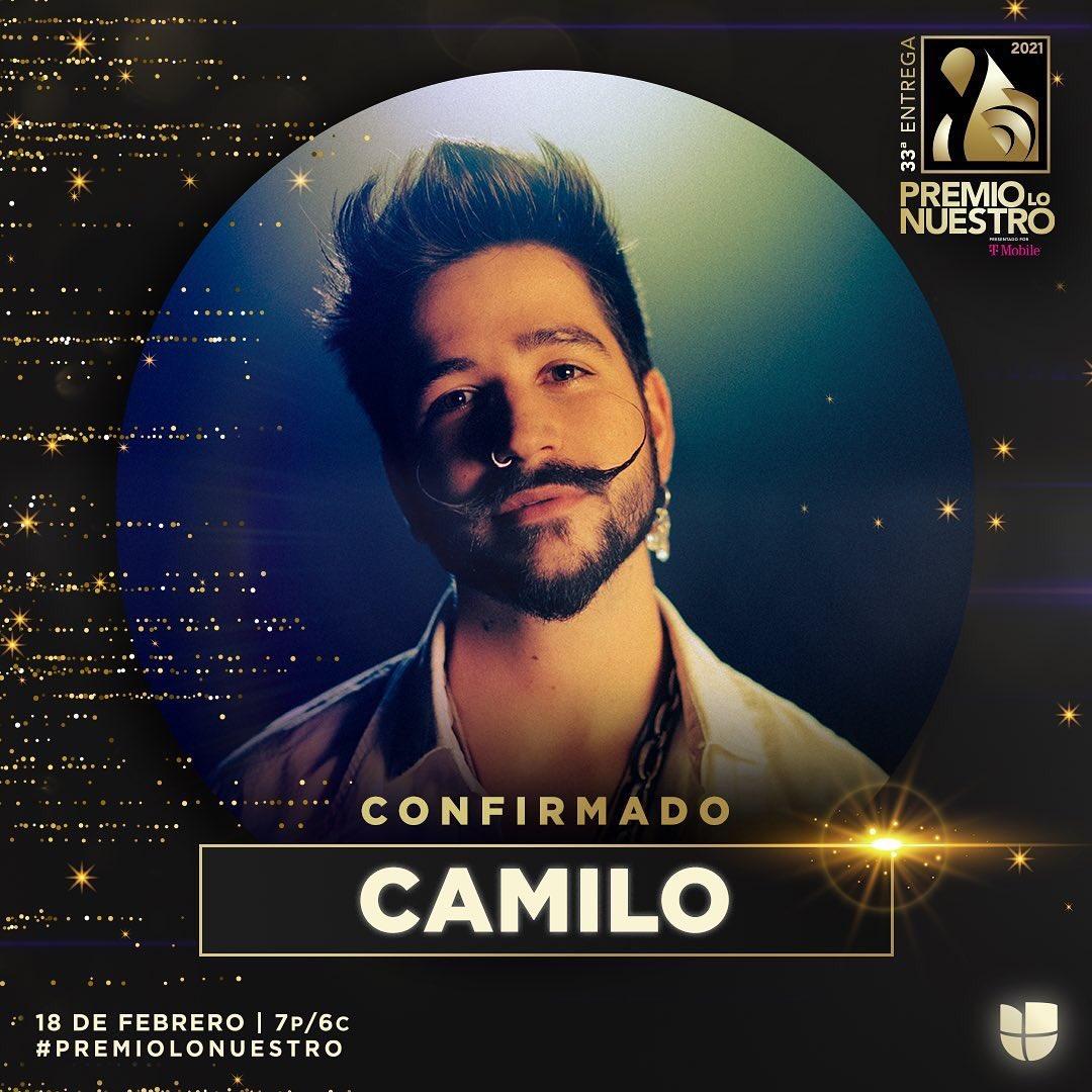 Replying to @premiolonuestro: .@CamiloMusica llega a #PremioLoNuestro para pasarla bien rico. ⛺️