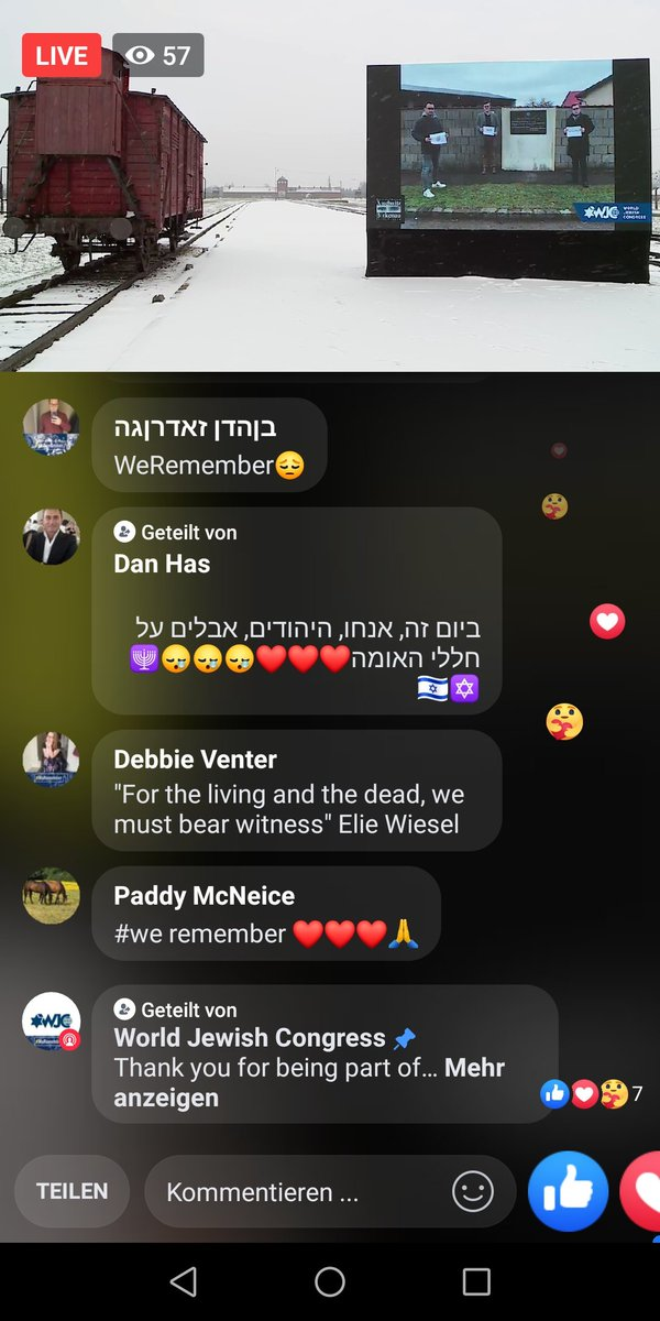 Since years I'm part of #WeRemember. Our photos will be livestreamed at #Auschwitz-Birkenau in the days before International #Holocaust #RemembranceDay.  #neverforget #niewieder #solidaritywithisrael #Shoa #Antisemitismus #Israel #Dresden #yadvashem