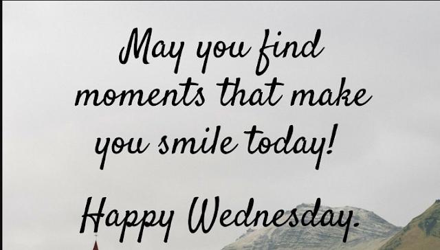 #wednesdaythought #smile #happywednesday