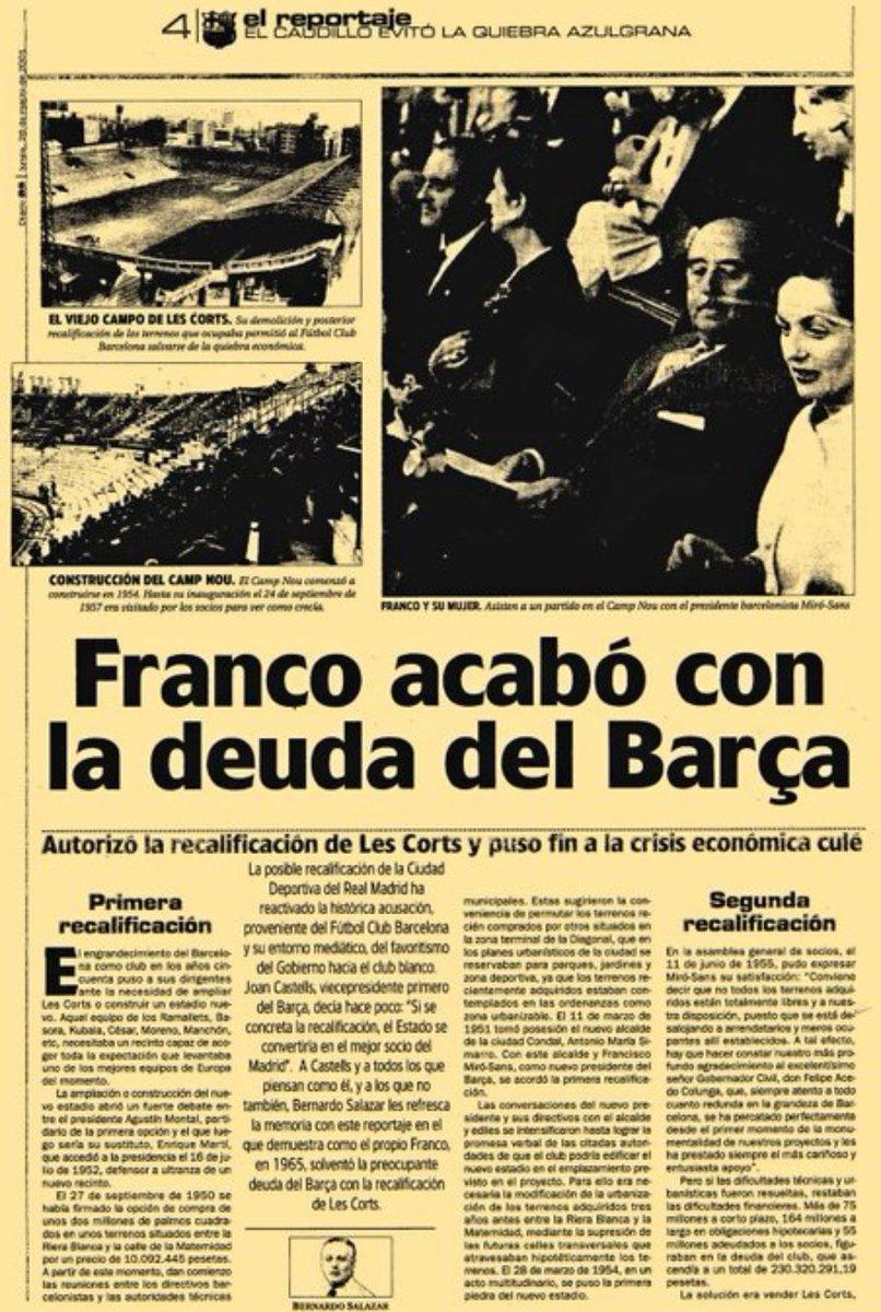 """#Barcelona Un pasivo de €1173 millones.  Pero así quieren construir el """"nuevo Camp Nou"""", mantener a Messi, traer de vuelta a @neymarjr, contratar a @ErlingHaaland y a Mbappe.   ¿Que pasa con @LaLiga y @Tebasjavier ? Ojo Franco ya no esta!🤣🤣  #HalaMadrid #RMFans"""