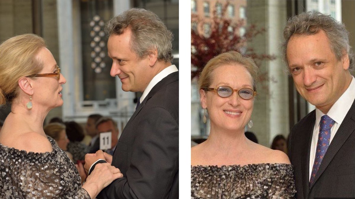 Yes, the one and only #MerylStreep attended our opening gala concert in 2015! Here are some precious photos of her with our Music Director @LouisLangree! Such wonderful memories 🤗 Hope to meet sometime again at #MostlyMozartFestival @LincolnCenter🎵 #tbt #nyc #mozart #music
