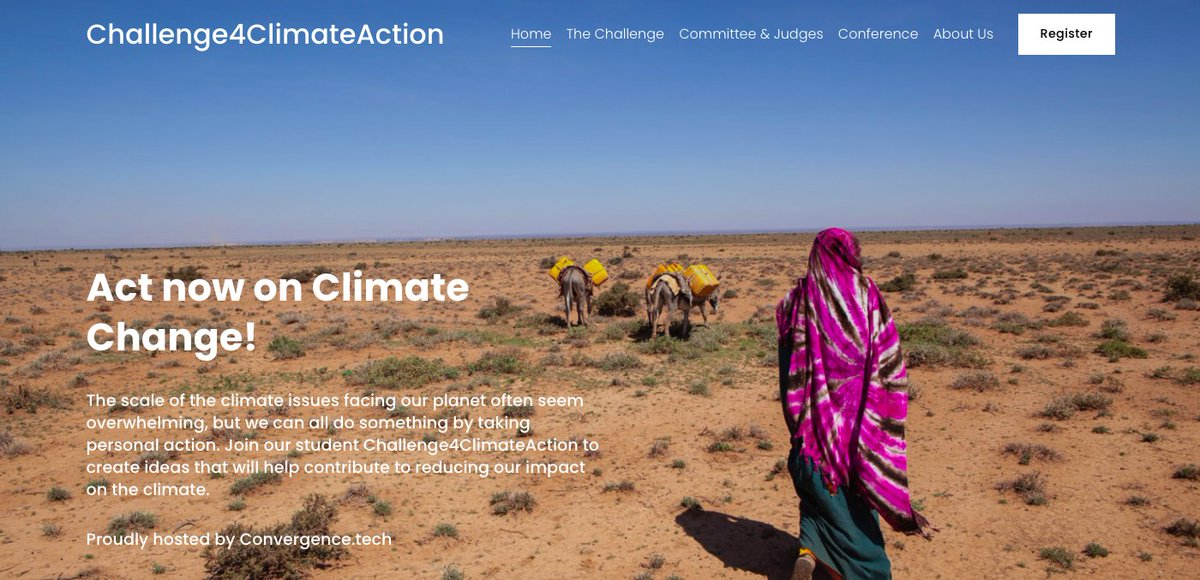 Excited to hear that @HTSRichmondHill will be participating in the #Challenge4ClimateAction #Hackathon taking place next month.   HTS students are invited to contact Mrs. Stephens @techtoteachwell if they are in interested in joining the team.  #ActOnClimate