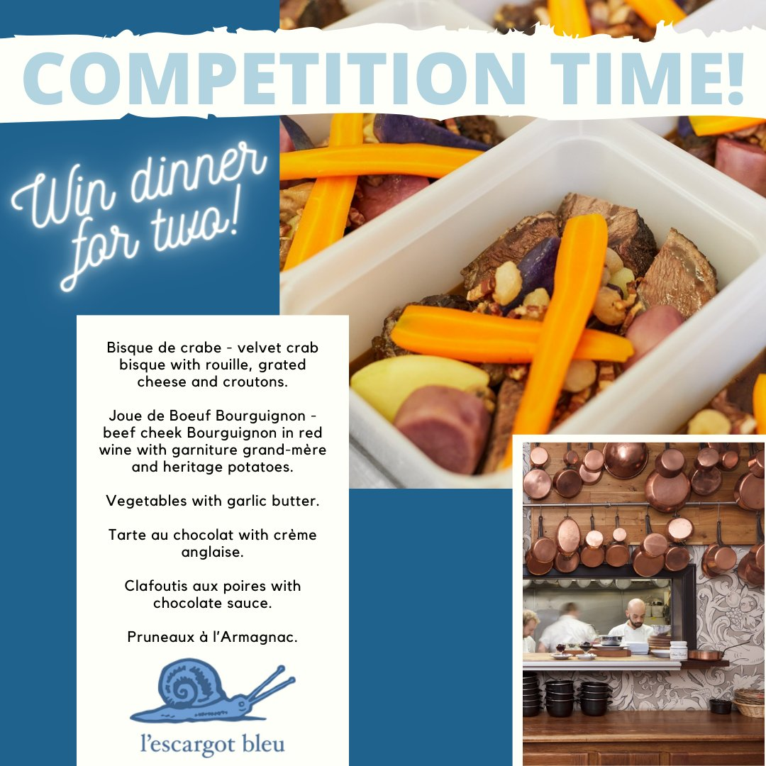 Bonjour little snails! We have a wonderful COMPETITION for you this week 🎉  All the details here ↓  #edinburgh #competition