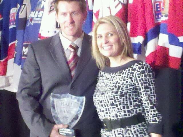 #tbt From the wonderful celebration when Luke Curtin was inducted into the #echl Hockey Hall of Fame A terrific Hockey player #HockeyTwitter