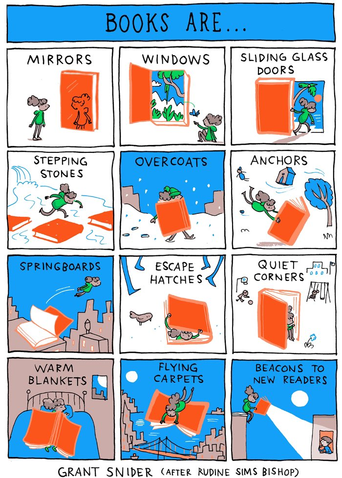 What are books to you? 📚