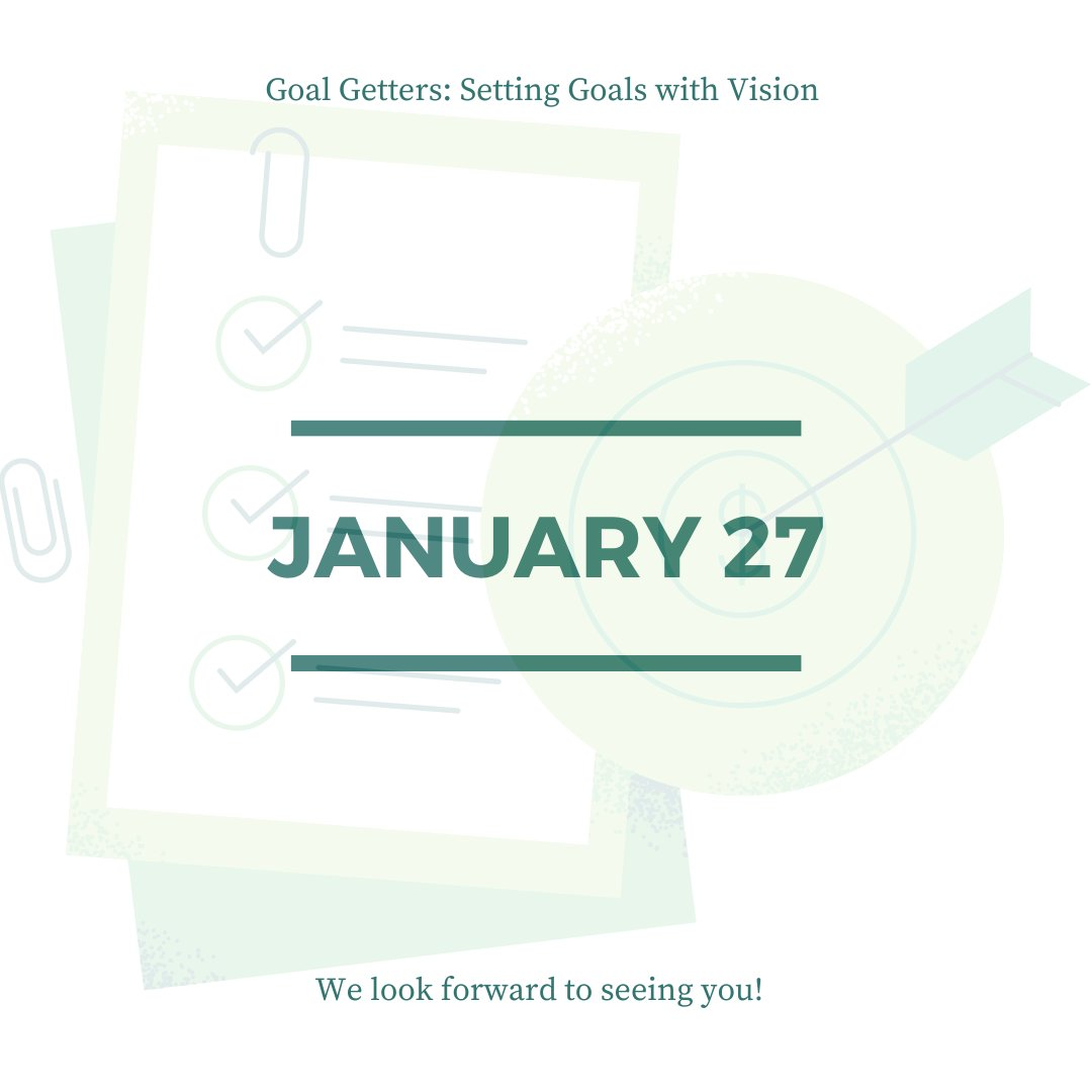 It's almost time! We are looking forward to seeing you at tomorrow's #OKJumpStart partner meeting! Don't miss out as we learn helpful hints to set #goals with a #vision.