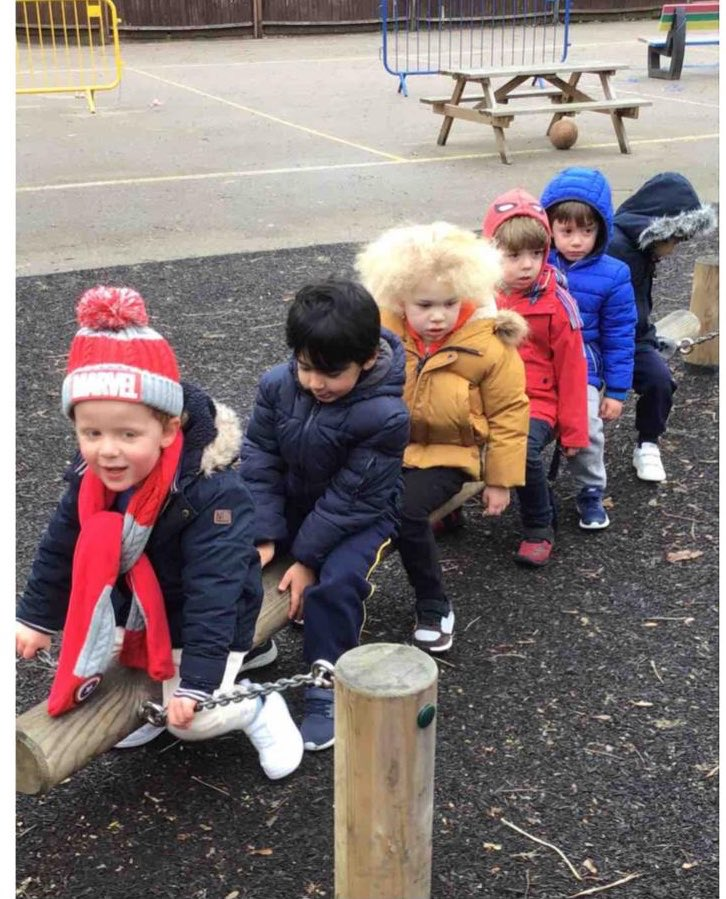 Pre-School, keeping the home-fires burning. So lovely to hear laughter in the playground. #tuesdaymotivations #EYFS