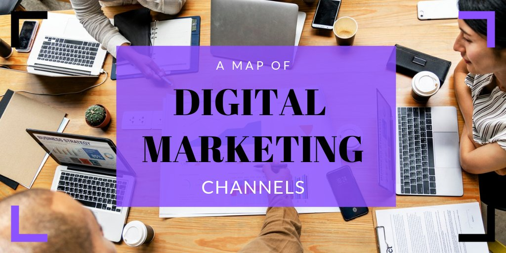 A Map of Top Digital Marketing Channels    #ViralMarketing #DigitalMarketing #MarketingChannels #SEO #AffiliateMarketing #OnlinePublicRelations #InfluencerMarketing