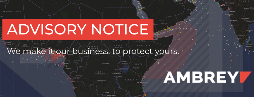 #SUBSCRIBE 🛡️: Ambrey provides real-time #alerts and advisories to the global #shipping community. Comprehensive reporting is available to MRI subscribers. To sign up to our standard advisories, simply follow the link and enter your business details.