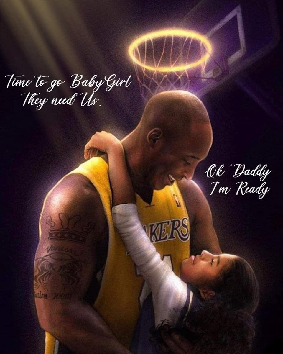 """The biggest mistake we make in our life is thinking we have time""  - @kobebryant  2020 was so cruel last year  We lost a piece of our culture as well as a piece of our heart when lost Kobe & Gigi 🕊🙏🏽💜💛💜💛💜💛 #RIPKobeAndGianna #MambaMentality #MambaForever #gigibryant #Kobe"