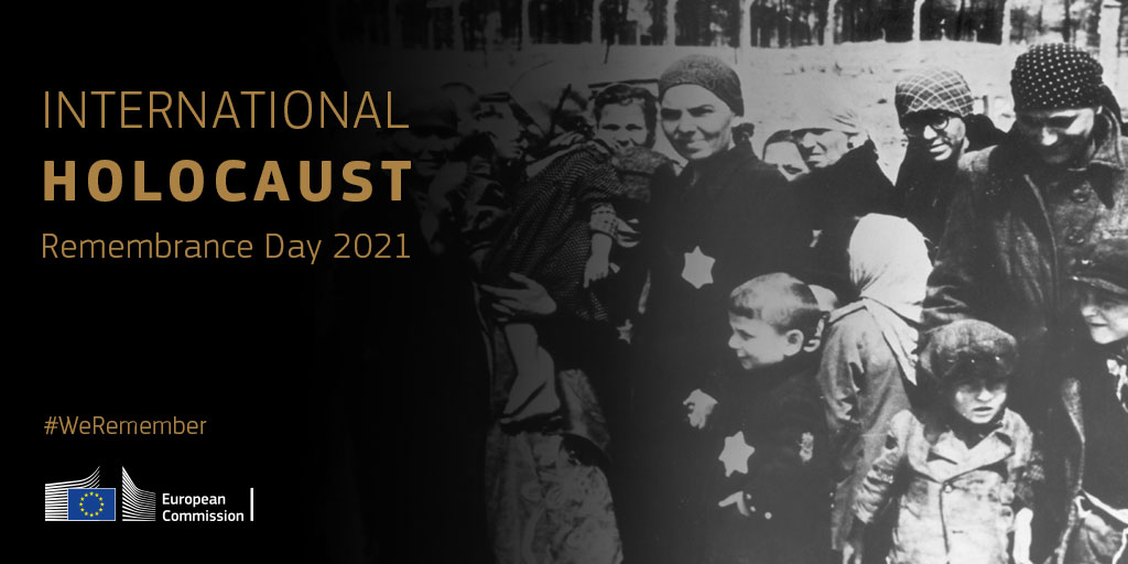 On #HolocaustRemembranceDay we say never again.  Over 75 years after the end of the Second World War, Holocaust memory is under threat due to conspiracy theories and disinformation promoting antisemitic narratives.  The Holocaust is not a myth and we must #ProtectTheFacts.