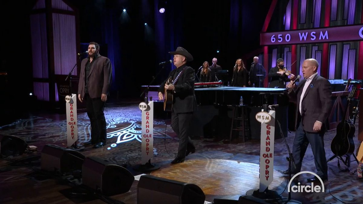 """.@jakehootmusic joined Opry members @DaileyVincent for their recent Opry performance of """"Take Me Home, Country Roads""""  Watch the full performance here:"""