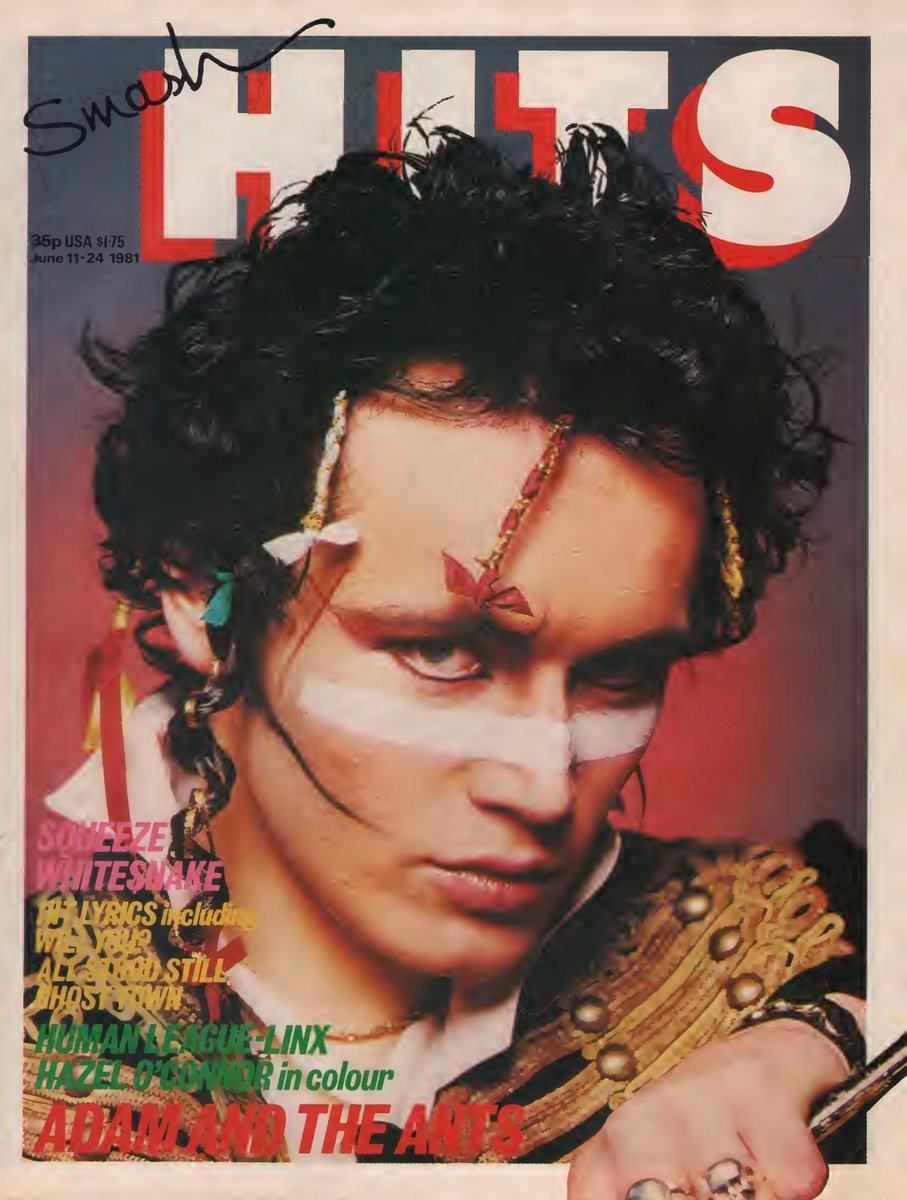 Tomorrow night Mark Ellen and I will be going through this 1981 Smash Hits page by page. Share the experience and bring your memories. https://t.co/DbovDkF2jg https://t.co/wULHZp8URy