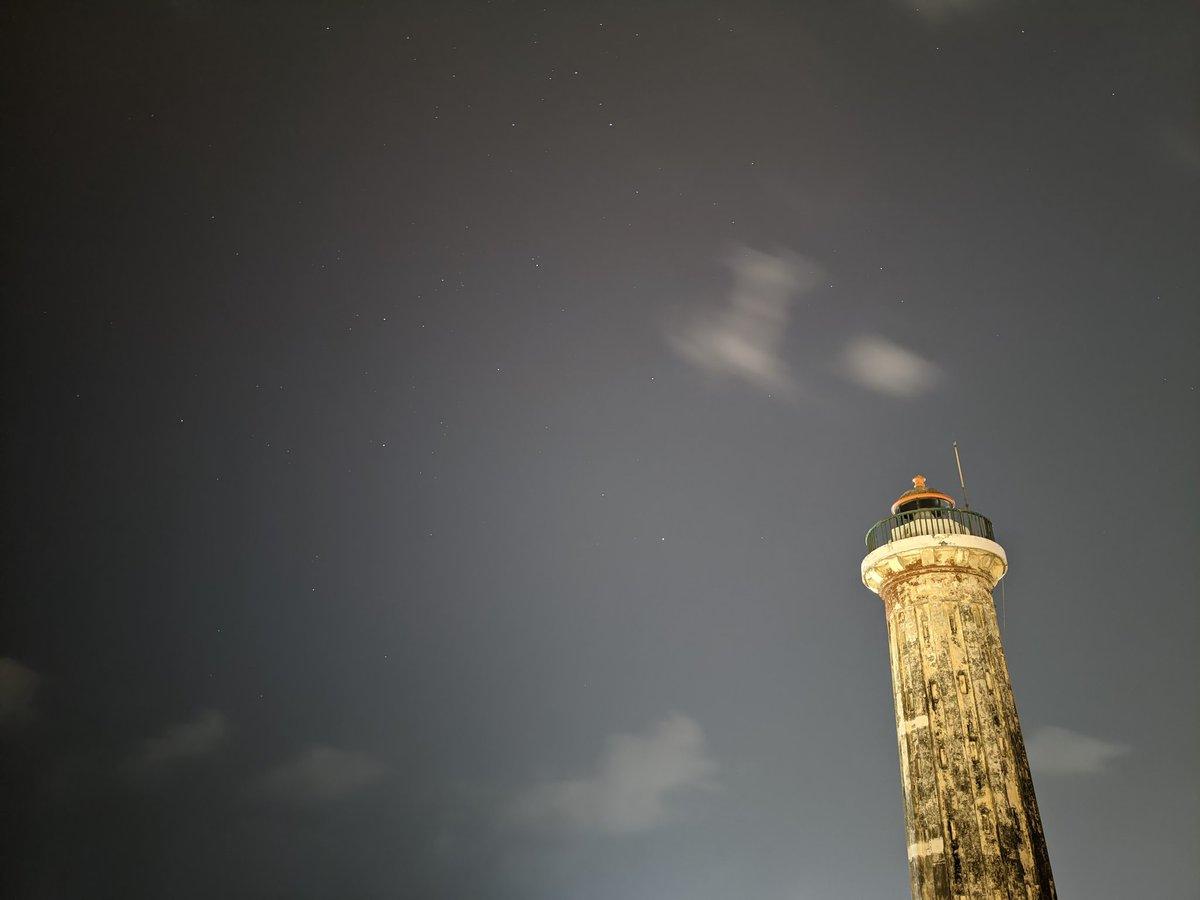 #TeamPixel #Pixel @madebygoogle  #Pixel4a #googlepixel4a #pixelphotography #googlepixelphotography #Astrophotography #nightsight #nightphotography #Night #LightHouse #Pondicherry #pondicherrydiaries🌴 #pondicherrydiaries #puducherry #pondy
