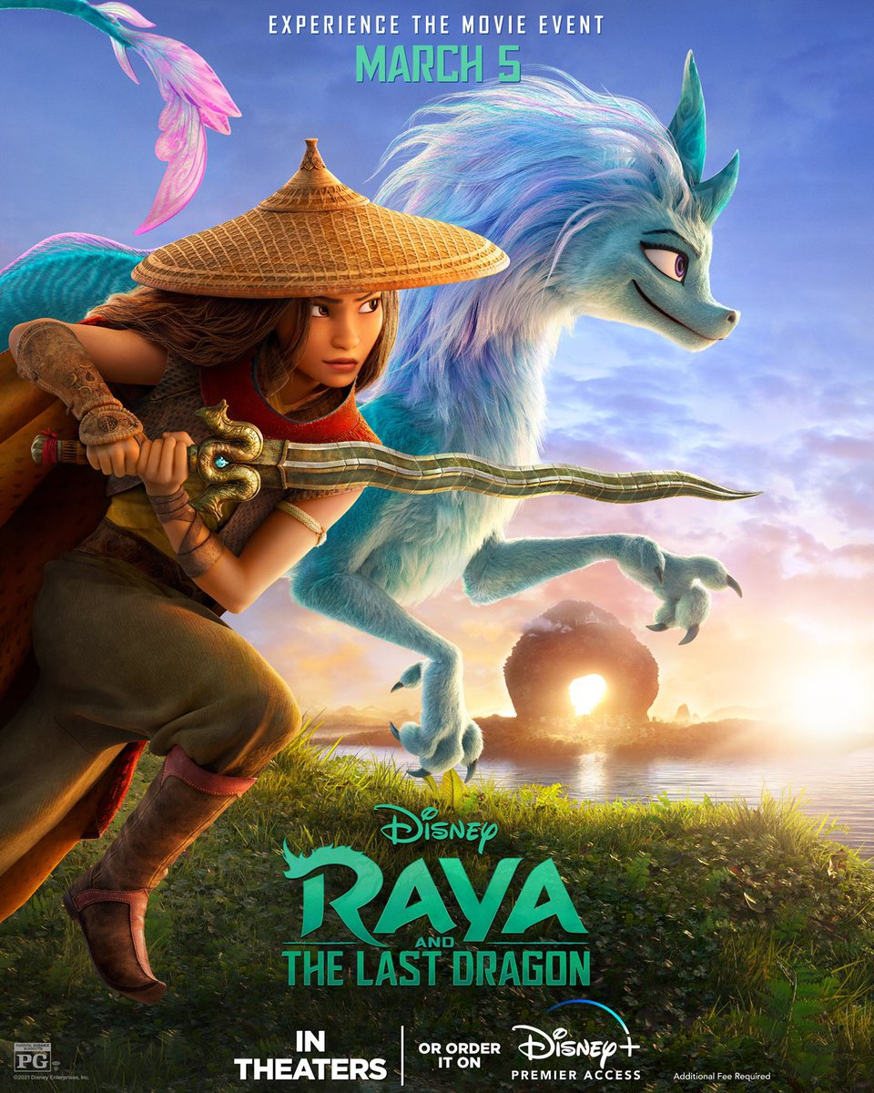 Check out the brand-new poster for Raya and the Last Dragon. Order it on #DisneyPlus with Premier Access March 5. Learn more: