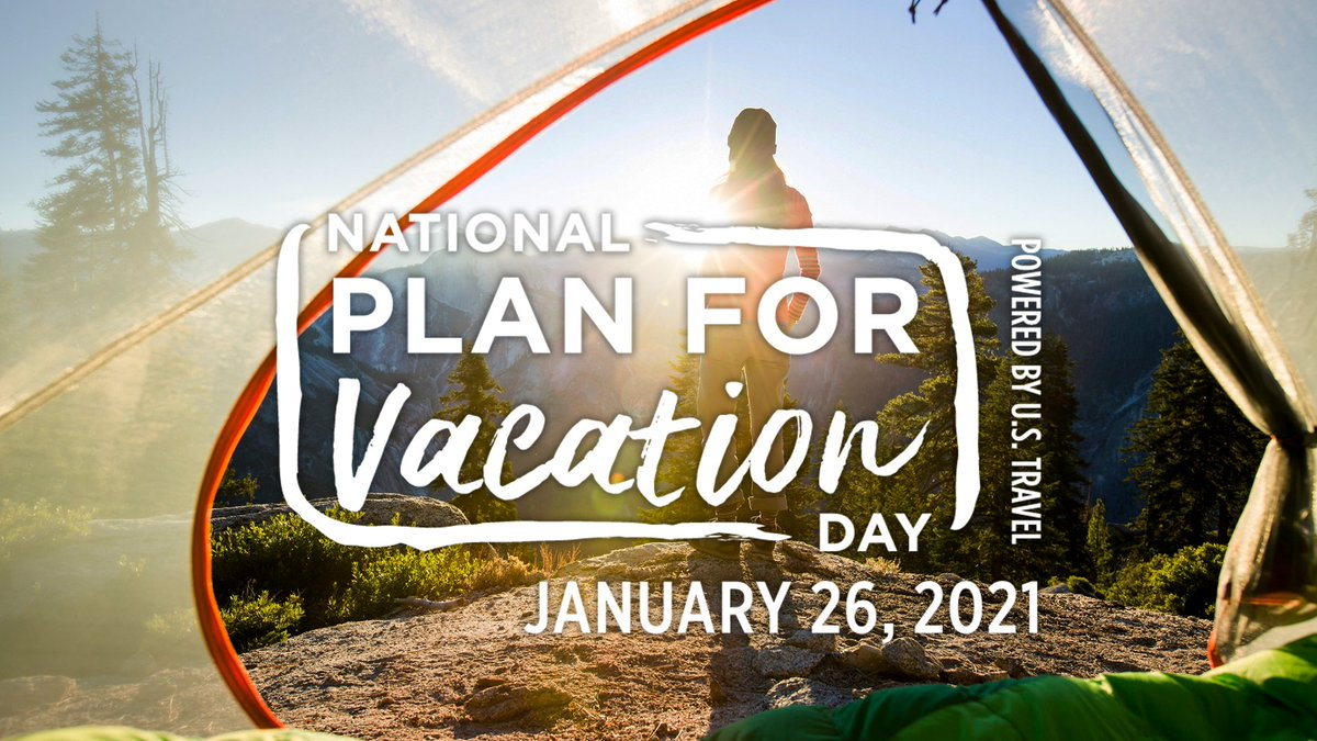 It's National #PlanForVacation Day! What vacation have you been dreaming of? #LetsMakePlans