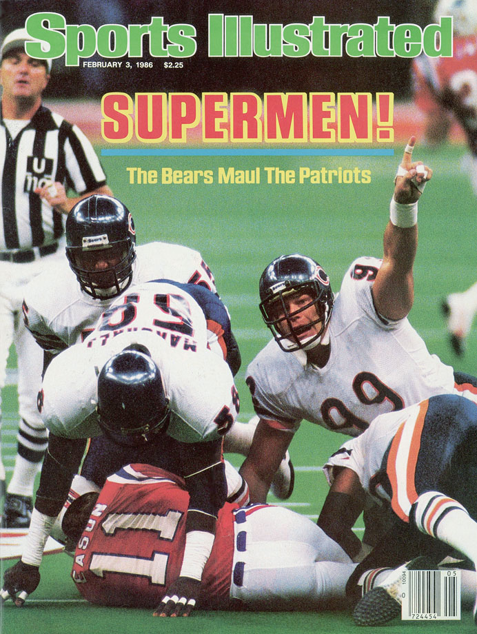 Jan 26, 1986: the Chicago Bears demolished New England 46-10 to win Super Bowl XX. #80s Richard Dent was named the games MVP.