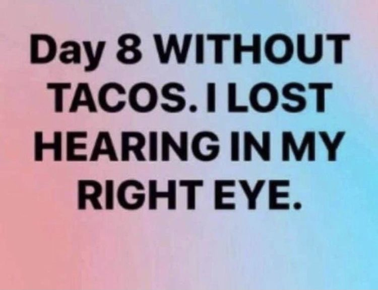 Good morning Twitter Neighbors ☕️ Yesterday ended up being a long 12 hour day so I think today needs to be quiet & tacos 🌮 need to be consumed. You decide what kind of taco I'm talking about 😏😈  #TacoTuesday #tuesdayvibe #tuesdaymotivations #TuesdayThoughts