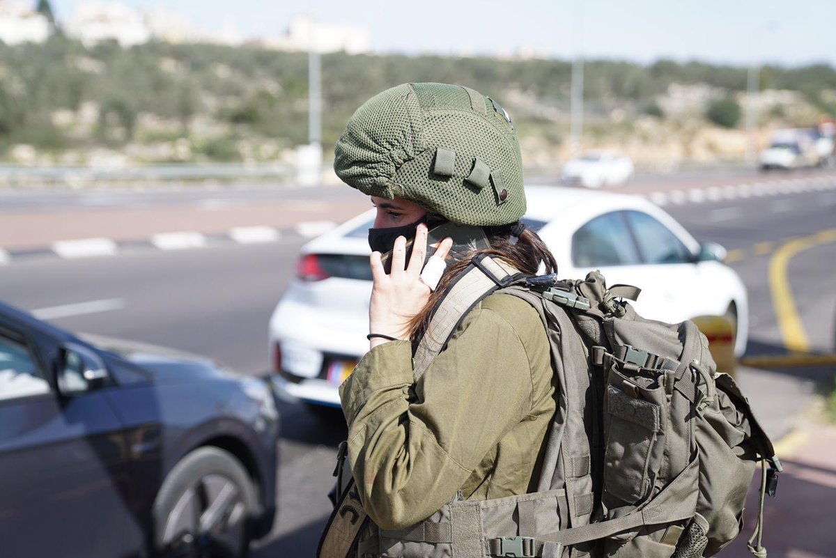 """""""The terrorist charged at me, I pushed him away. My parents stayed calm [when] I told them that there was an attack I was involved in, that they should not be afraid.״  ––Cpl. L., a combat soldier in the Search and Rescue Brigade, who thwarted a stabbing attack today"""