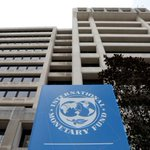 Image for the Tweet beginning: IMF lifts global growth forecast