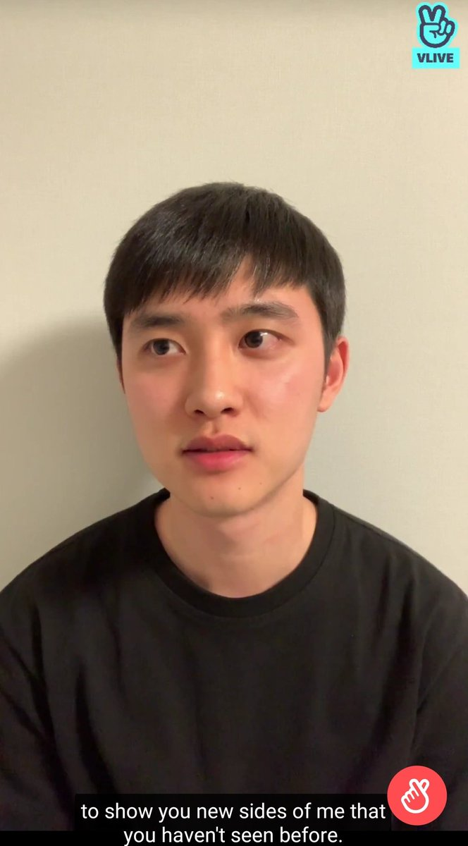 Kyungsoo literally said hes preparing some fun things and that hes going to show us a different side of him that we havent seen before.. Ahhh im so excited!!!!