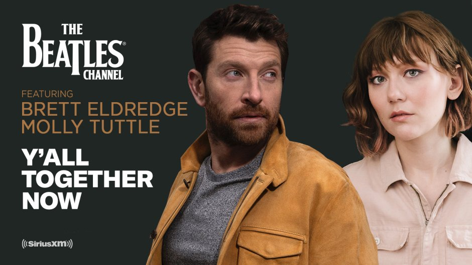 .@bretteldredge and @mollytuttle celebrate @thebeatles from a Nashville perspective in another edition of 'Y'All Together Now' on The Beatles Channel. Details: