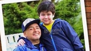 #CARICATURASyFOTOS nº1598  #GraciasDIEGO   Con Dieguito Fernando