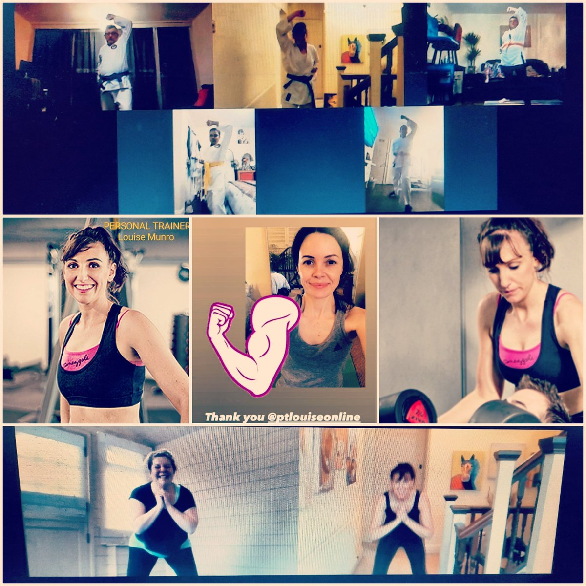 Need #motivation keeping fit during lockdown? Or maybe want to learn #karate? I'm here to help with both #Online #PersonalTraining and #KarateLessons too! Drop me an  DM or email personaltrainerlouise@gmail.com  #OnlineFitness #Cardio #Resistance #FunFitness #Nutrition #PTOnline