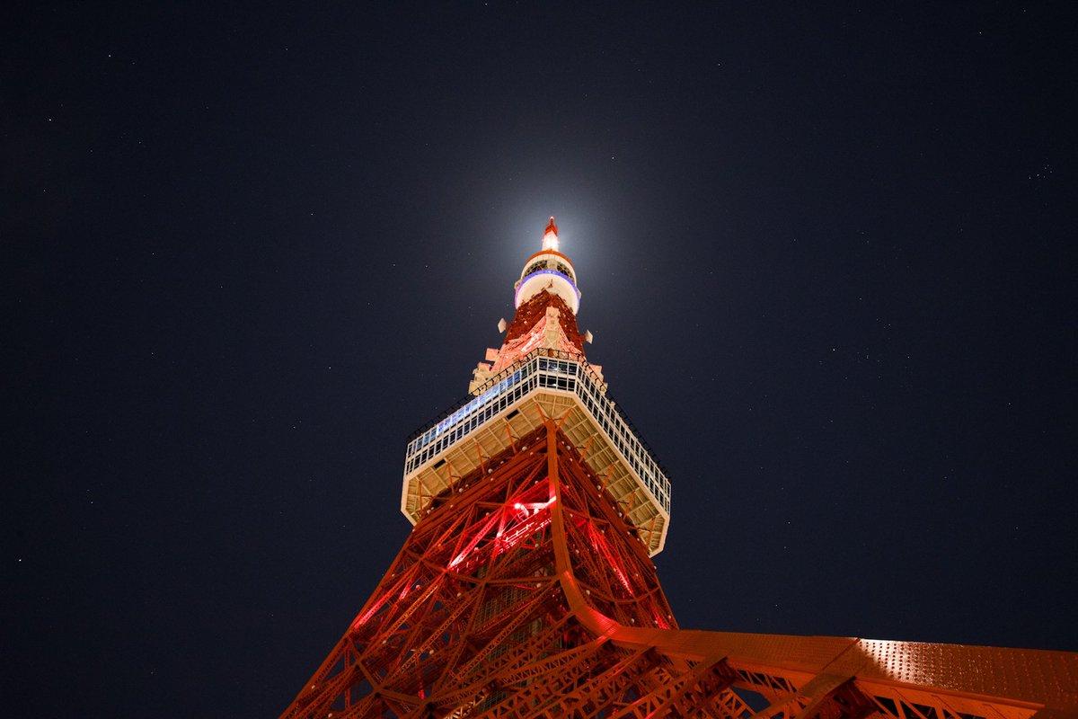 🌌星空🌟月光🌙 🌃東京タワー 🗼  Canon 6D mark2 Canon EF 24-105mm F4L IS USM  #星空 #starry  #月光 #moonlight  #東京タワー #tokyotower #夜空 #nightsky #夜 #night  #Canon #写真好きな人と繋がりたい #東京 #tokyo #東京カメラ部 #tokyocameraclub